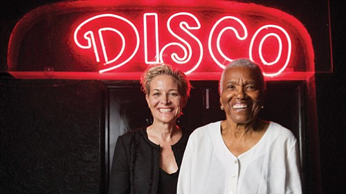 "Film Director C. Fitz (left) tells the story of Jewel Thais-Williams in ""Jewel's Catch One,"" a documentary about a black disco club owner in Los Angeles in the 1970s. The film will screen this week as part of the Portland Queer Documentary Festival at the Hollywood Theater in northeast Portland."