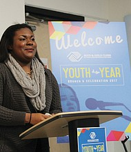 Roosevelt High School sophomore Kaleha Keenan is named Boys and Girls Clubs of Portland Youth of the Year.