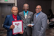 Honoree's and Ace Barbershop Owners, Jerome Lewis and Bob Lewis