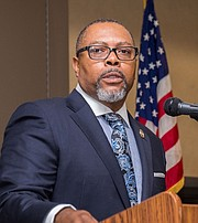 NAACP President A Majadi articulated the importance of Economic Justice