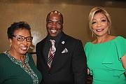 Cheryl Brown, Terrence Stone, and Linda Jackson