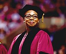 Myechia Minter-Jordan, President and CEO of The Dimock Community Health Center, was among a distinguished group of influential figures to receive a Doctor of Public Service honorary degree at Northeastern University's 115th commencement for her visionary leadership of The Dimock Center, transforming it into a national model for health and human services.