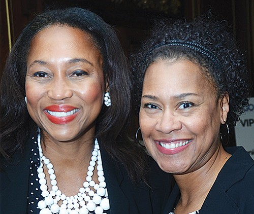MWPC Board member and BWH HR vice president Sabrina Williams and Denise Kaigler, Founder, MDK Brand Management.