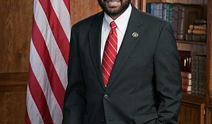 Texas Congressman Democratic Representative Al Green's official portrait.