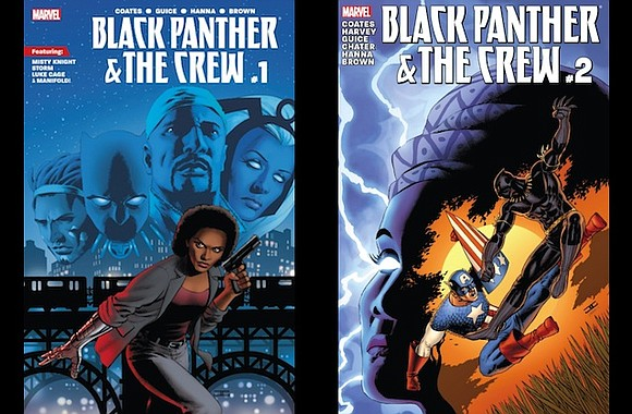 The comic series, which followed Black Marvel superheroes investigating the death of a social justice activist in police custody, will ...