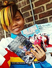 Essynce Moore, teenpreneur and author of 3 books