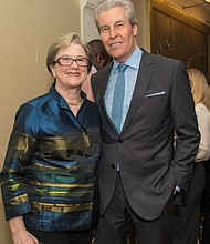 Kathryn S. Wylde, president and CEO Partnership for New York City, and Macy's Excutive Chairman Terry J. Lundgren