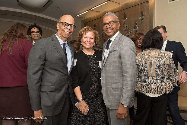 Dr. Michael L. Lomax, president and CEO of UNCF, Debra L. Lee, Chairman and Chief Executive Officer of BET, and William Hawthorne, III, Sr. Vice President, Diversity Strategies Macy's, Inc.