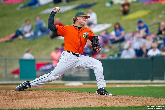 Joliet Slammers pitcher Kaleb Ort has signed with the New York Yankees in a minor league deal that will have ...