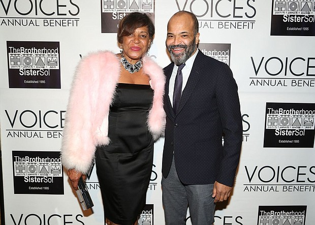 Jeffrey Wright and Carrie Mae Weems.