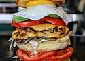 The Biggie burger from Harlem Shake