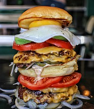 The Biggie burger from Harlem Shake