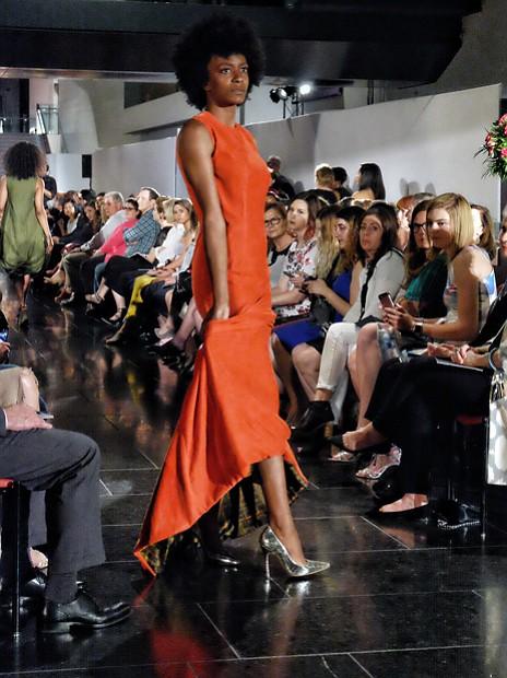 Fashion forward // Models strut the runway, showing off fashion forward designs at Runway 2017: