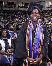 VSU valedictorian Stacey Elder