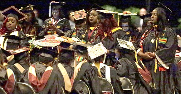 Education Secretary Betsy DeVos vowed support for the students at the at Bethune-Cookman University graduation ceremony May 10, but was ...