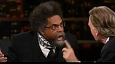 "Cornel West and Bill Maher on HBO's ""Real Time with Bill Maher"""