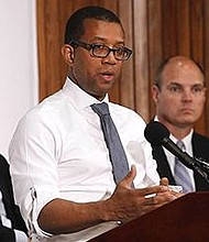 Attorney Jim Johnson is the only African American in the race. - Wikipedia photo