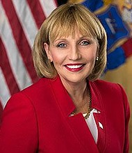 Polls show that Lt. Gov. Kim Guadagno is the front runner for the Republican nomination for governor this year. - Wikipedia photo