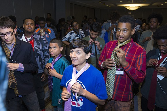 CHICAGO – More than 300 young men from 65 local-area high schools will be dressed to impress for their high ...