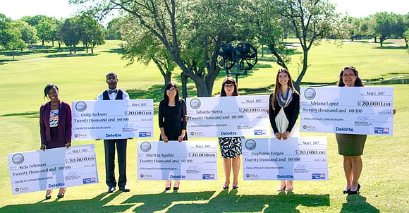 Six Dallas ISD students will be awarded and join the 38 previous recipients of the 2017 Deloitte/NTPGA Fairway to Success ...