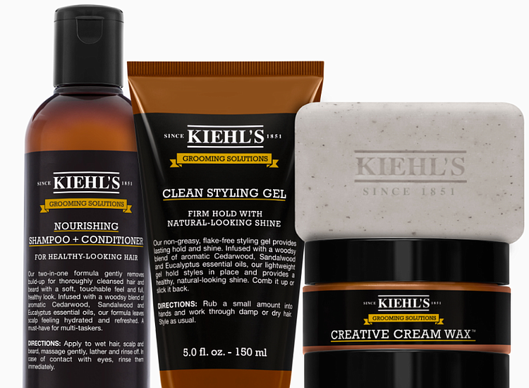 kiehl 39 s since 1851 unifies men 39 s routine with new grooming solutions line houston style. Black Bedroom Furniture Sets. Home Design Ideas