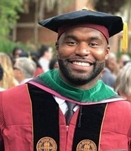 Myron Rolle, a former NFL player, talks about concussions and his neurosurgery residency
