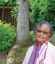 Marge Moss, a former resident of Vanport had a positive experience living in the city as a child.