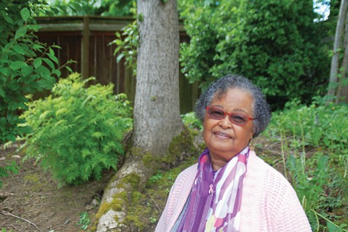 Marge Moss, a retired nurse and former employee at the Urban League of Portland, has been involved with the Vanport ...