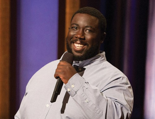 An actor and comedian making a splash on the national stage will land in Portland this holiday weekend for Minority ...