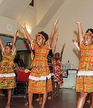Performing in Portland's  Kukatonon Children's African Dance Troupe inspires confidence in the participants and broadens their awareness of African and African American cultural traditions.