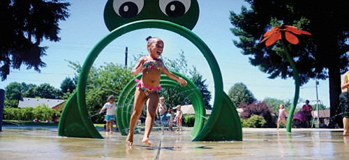 Portland Parks and Recreation turns on the water for splash pad features this long Memorial Day weekend, starting Friday, May ...