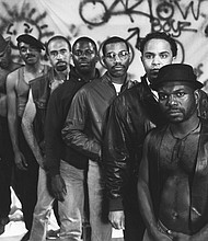 Production still from Marlon Riggs, Tongues Untied.