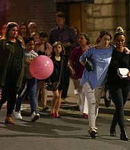 Many of the concertgoers were young children. Credit Dave Thompson/Getty Images