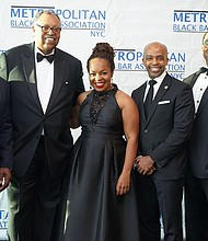 Joseph Drayton,  Partner, Cooley LLP; Hon. William Kuntz, United States District Court Judge for the Eastern District of New York; Paula Edgar, MBBA President and  Founder and Principal of PGE LLC; Alphonso David, Counsel to Governor Andrew M. Cuomo; Nate Saint-Victor, Executive Director, Morgan Stanley
