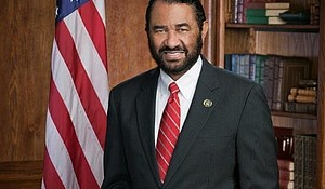 Texas Congressman Democratic Representative Al Green's official portrait.