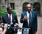 Bill Cosby leaves the Allegheny County Courthouse after jury selection was completed May 24th, 2017.