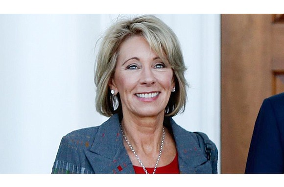 "The Trump administration is proposing ""the most ambitious expansion"" of school choice in American history, U.S. Education Secretary Betsy DeVos ..."
