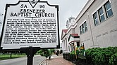 Ebenezer Baptist Church has stood at the corner of Leigh and Judah streets since its founding in 1857. For more than a century, members of the Jackson Ward church have made significant contributions to civic life in Richmond.