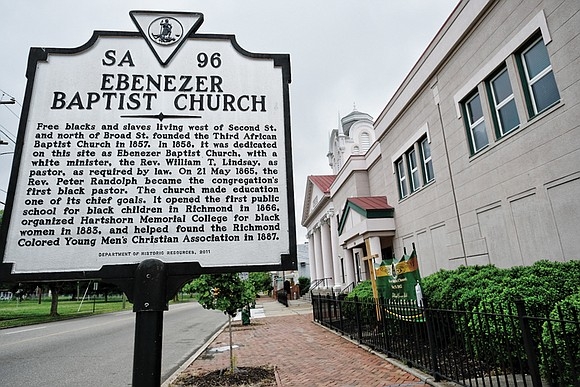 Ebenezer Baptist Church will host a series of public events this week to mark its 160th anniversary as a beacon ...
