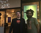 Cannon Hersey and curator JaSon Auguste