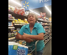 Walmart says it will ask a customer to no longer shop at their stores after she was caught on video hurling racial abuse at other customers in Bentonville, Arkansas. The video was taken by Eva Hicks, the woman who was told 'go back to your country'.