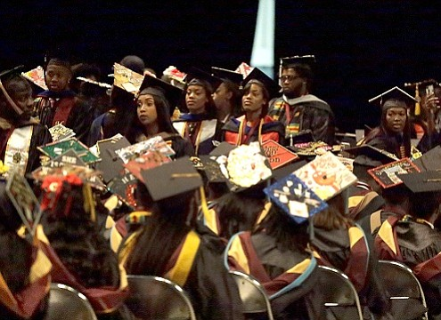 These days, college students have no trouble transforming into activists to address big inequities — including from their own commencement ...