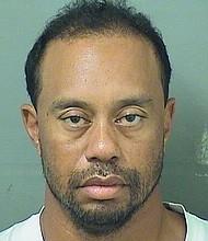 Tiger Woods' mugshot