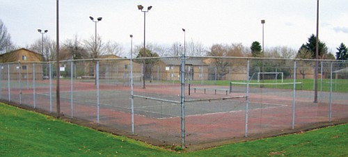 Tennis courts at Argay Park to be restored.