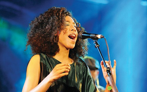 Corinne Bailey Rae performs with Jamila Woods, Wednesday, June 7 at the Wonder Ballroom.