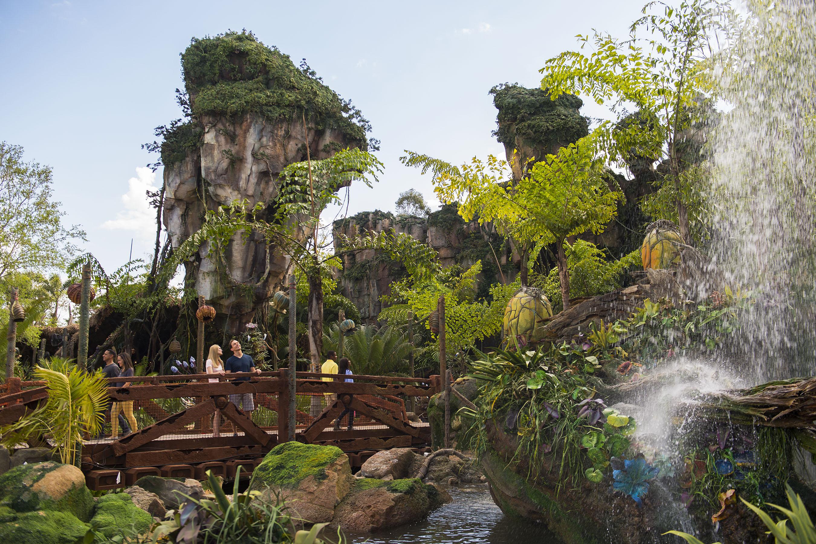 Disney unveils \'Pandora—The World of Avatar\' | New York Amsterdam ...
