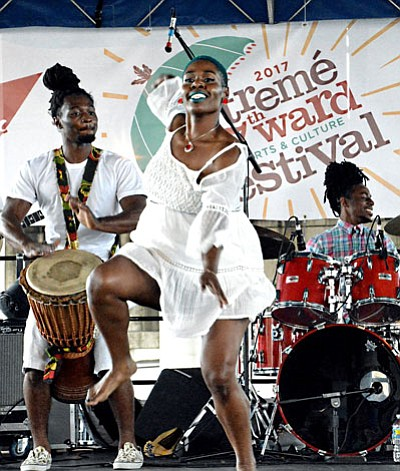 During Memorial Day Weekend, the Treme' 7th Ward Cultural District held its 2nd Annual Arts and Cultural Music Festival under ...