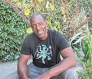 "Ron Finley, the self-proclaimed ""gangsta gardener."""