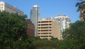 Ebony Jet Building in Chicago