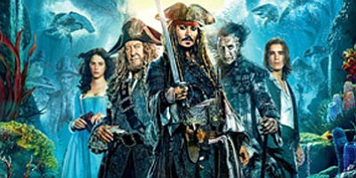The Walt Disney Studios motion picture presentation of Pirates of the Caribbean: Dead Men Tell No Tales is the fifth ...